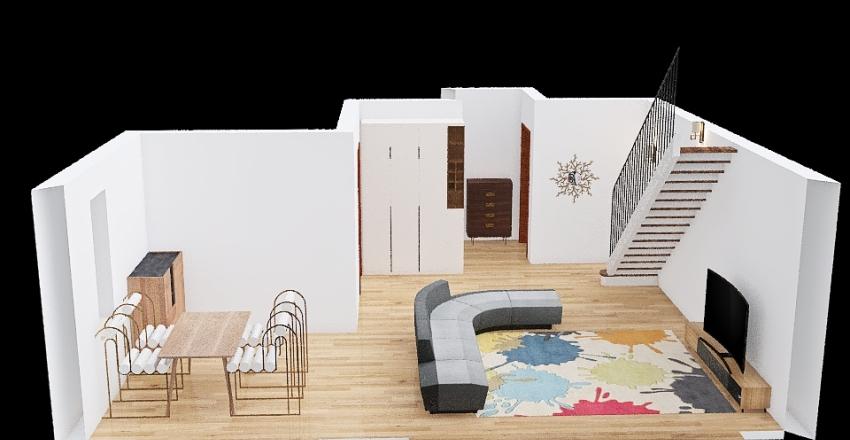 Living+Dining_Diana Interior Design Render