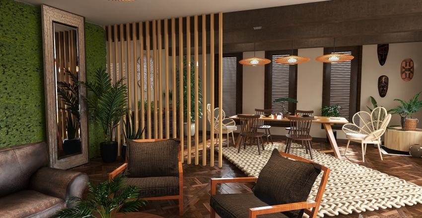 #2. Interior Design Render