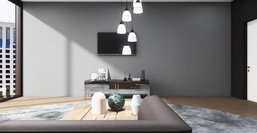 Dark - LivingRoom Interior Design Render