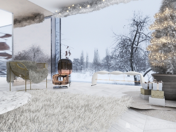 Zoe's Breaking the Rules with a Glass House Interior Design Render