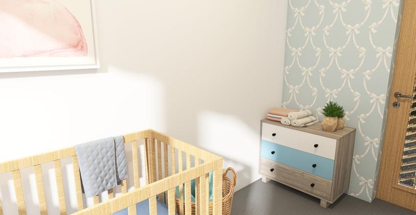 MOA Nursery Interior Design Render