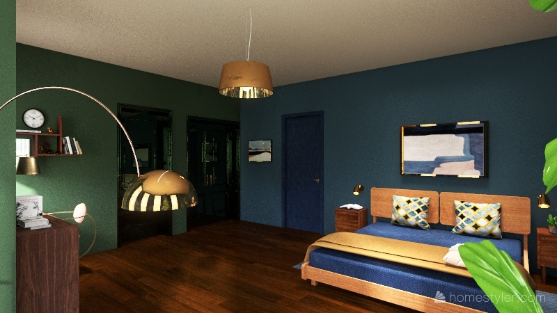 Assignment 5 Tutorial 6 Bedroom_copy Interior Design Render