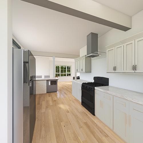 mirror pantry Interior Design Render