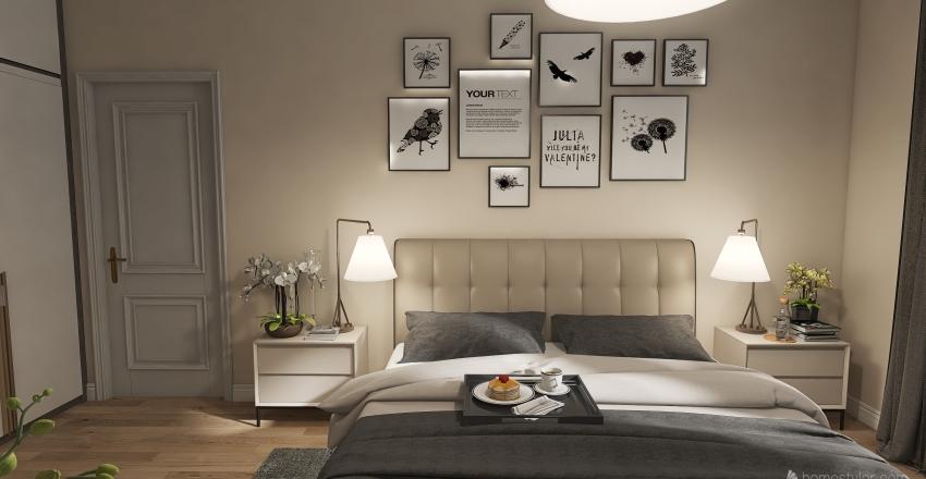 Спальня 1 Interior Design Render