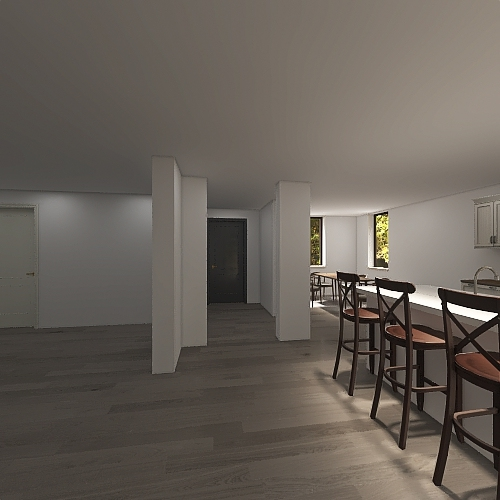 Gault Kitchen Interior Design Render