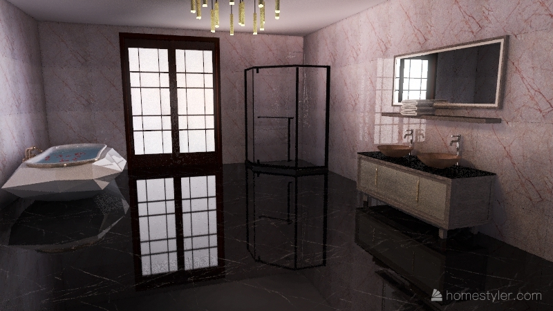 Bathroom Project Interior Design Render