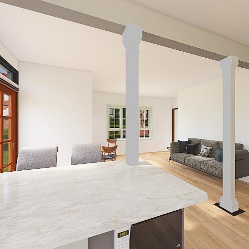 Peninsula Interior Design Render