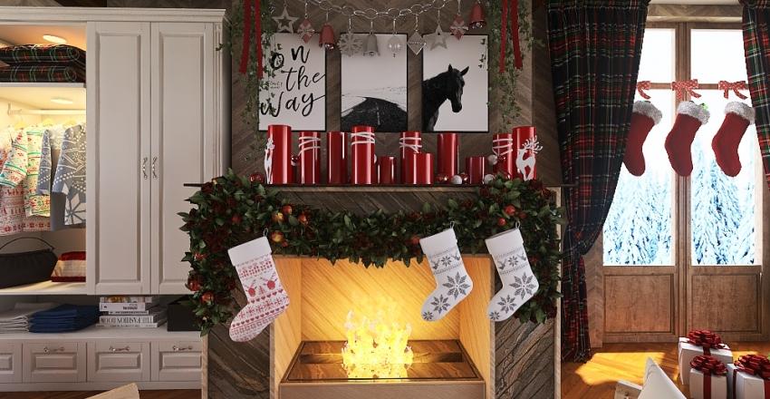 Merry Christmas!  Interior Design Render