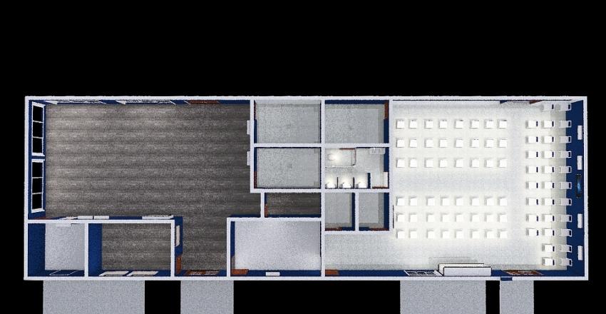 Copy of Modelo 2 de ampliação do terminal antigo Interior Design Render