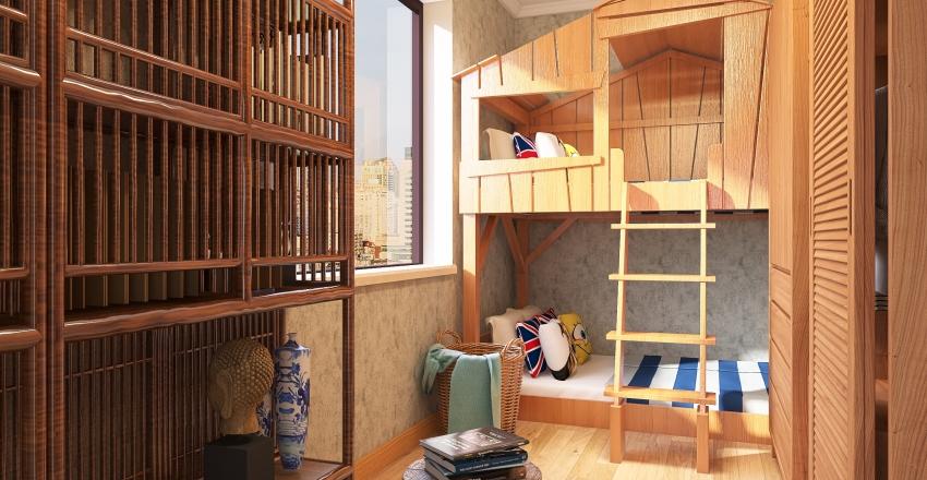 #HSDA2020Residential - Family House Interior Design Render