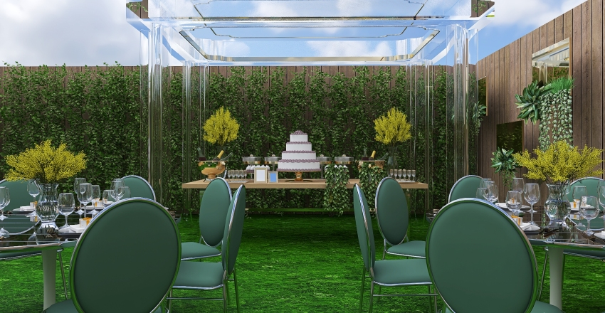 Casamento Interior Design Render