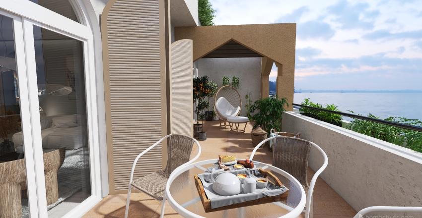 #HSDA2020Commercial Apartahotel en Benalmadena Interior Design Render