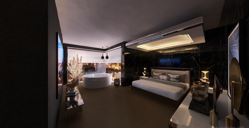 luxury apartment  Interior Design Render