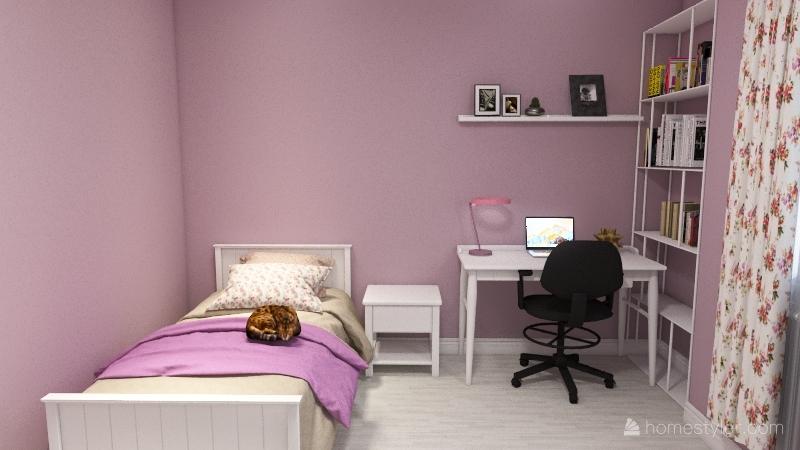 Mai's bedroom Interior Design Render