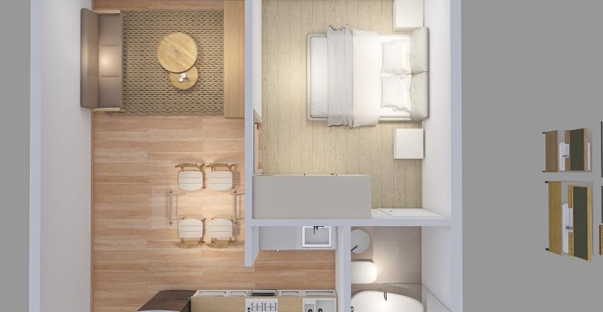 PROYECTO LOFT Interior Design Render