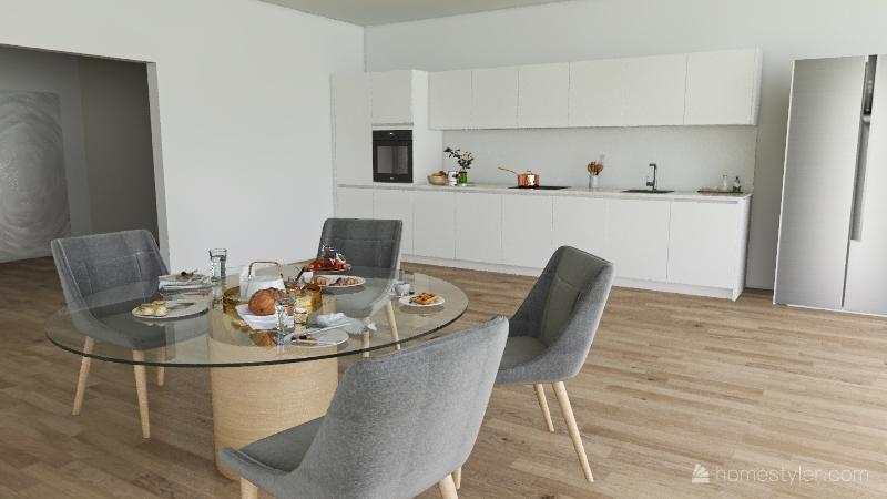 a casa do sitio Interior Design Render