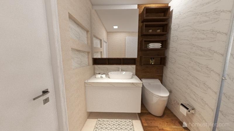 Clayton 2/4 Interior Design Render