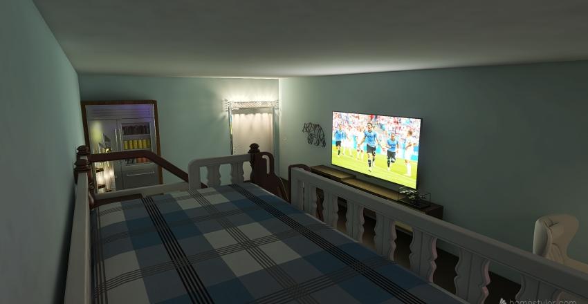 Noah's Bedroom Interior Design Render
