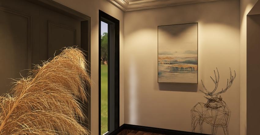 ivory house Interior Design Render