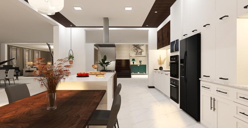 Depa Dos piso Interior Design Render