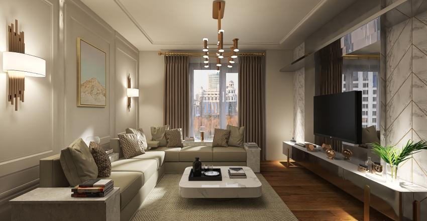 oturma odası Interior Design Render