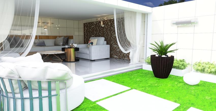 #HSDA2020Residential Outdoor Garden Interior Design Render