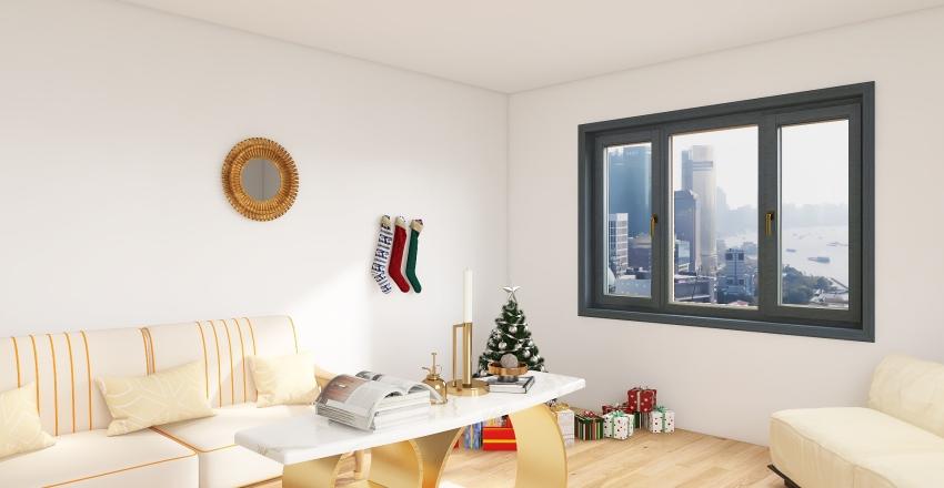 Todays' Christmas Interior Design Render