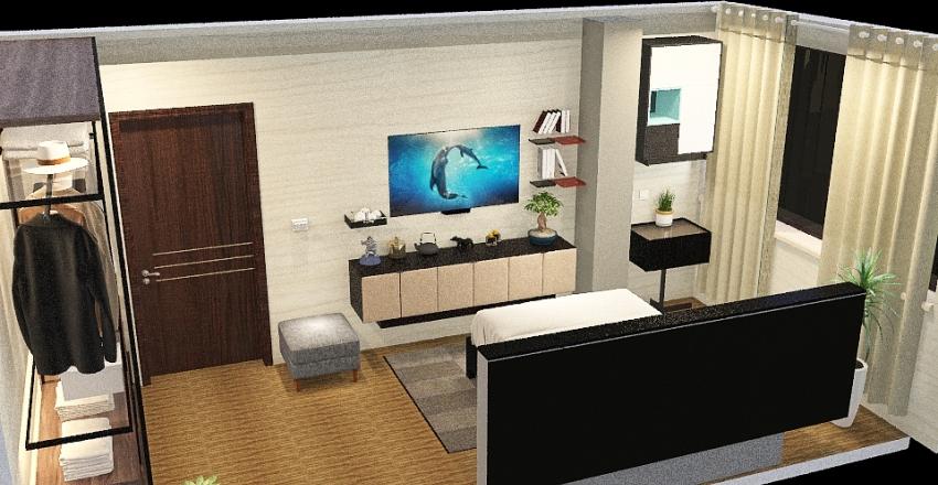 Copy of Bedroom 1 Interior Design Render