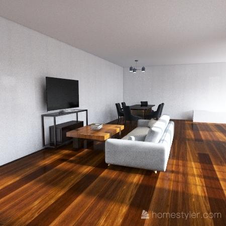 Daniel Melgarejo Condo Design Interior Design Render