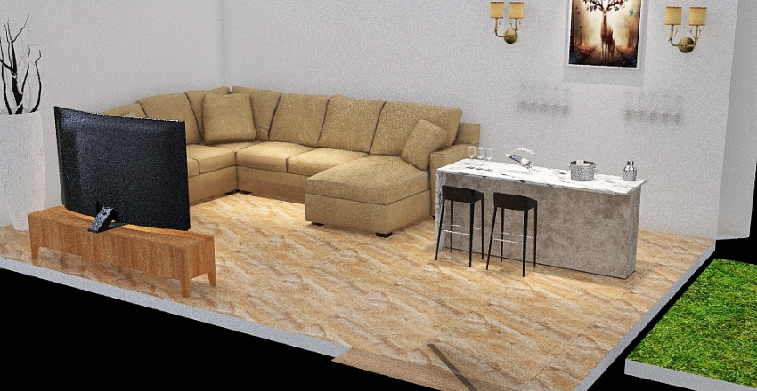 k123 Interior Design Render