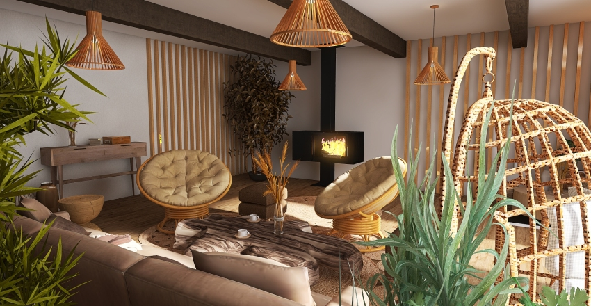 #5. Interior Design Render