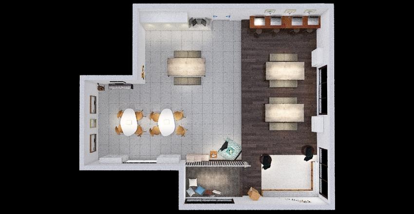 daycare final version Interior Design Render