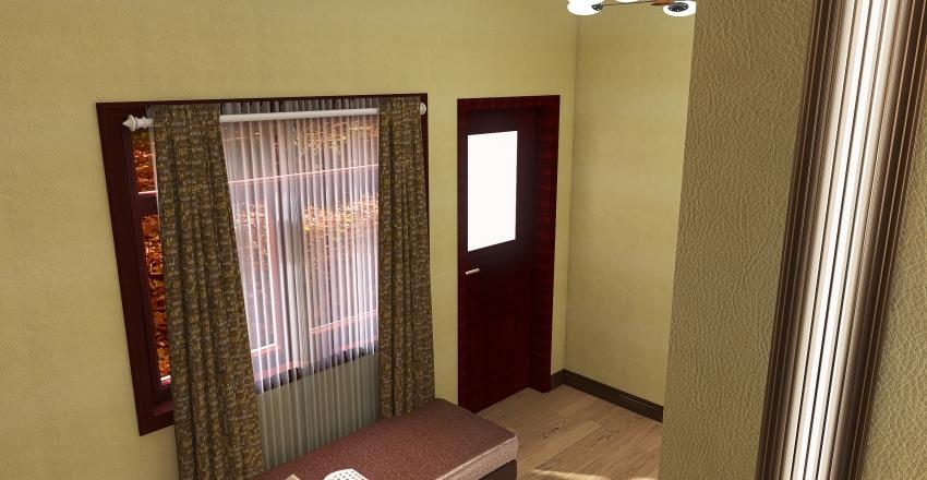 small pod Interior Design Render