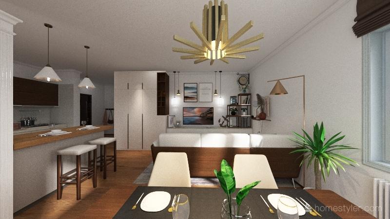 Numero 10 Interior Design Render