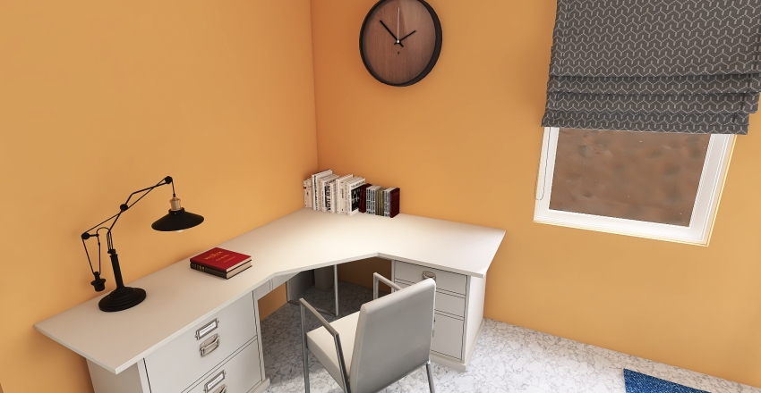 v2_small house Interior Design Render