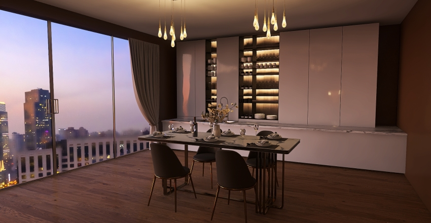 Dream apartment Interior Design Render
