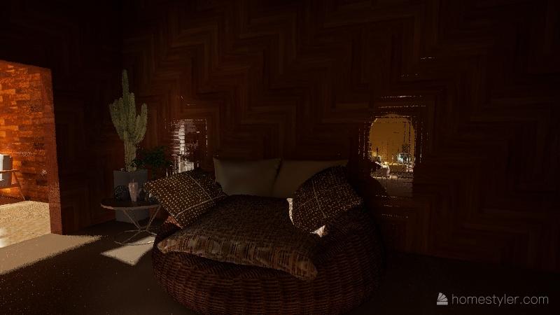 name house hpt clac Interior Design Render