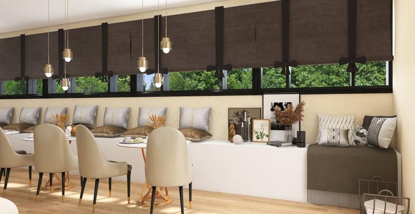 coffe shop Interior Design Render