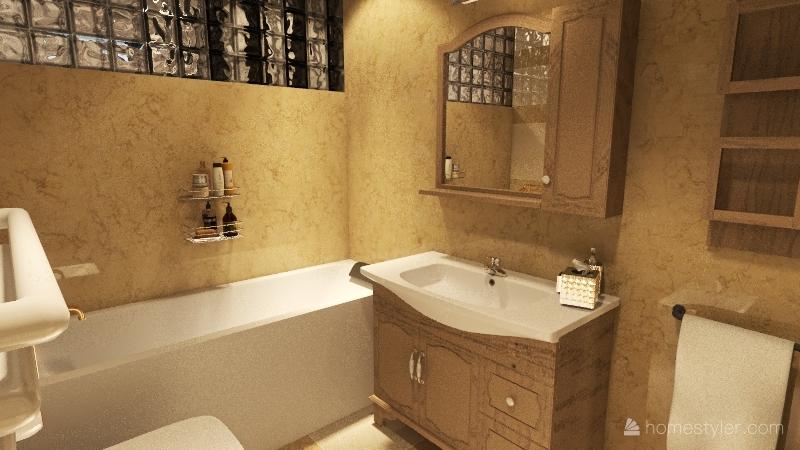 Appartamento vista mare Interior Design Render