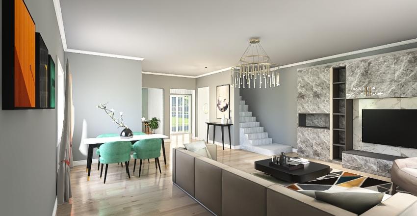 Casa Sibi Negea Interior Design Render