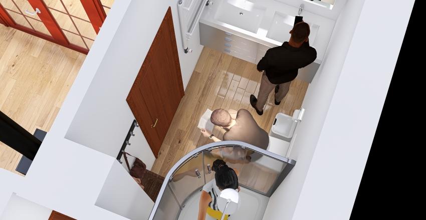 Cserszegtomaj Iskola u. 3.kocka konyha Interior Design Render