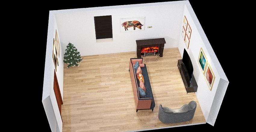 Zug House design Interior Design Render