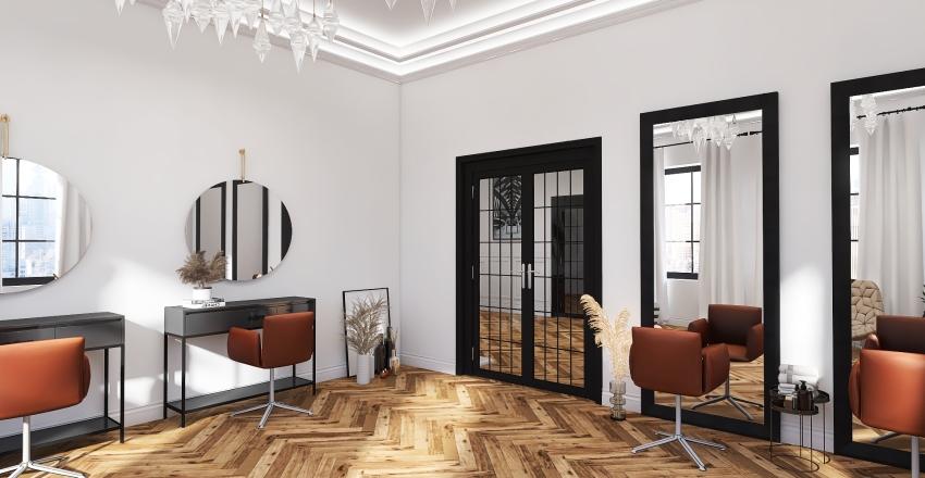 Studio foto parter Interior Design Render