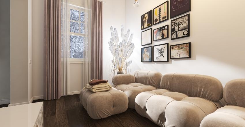#HSDA 2020 Small French House design Interior Design Render