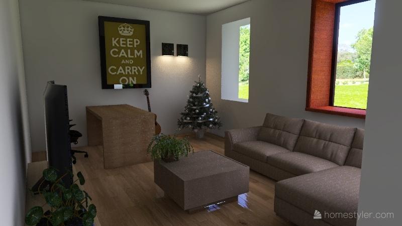 Appt Gentbrugge Interior Design Render