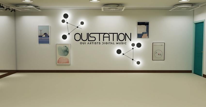 OUI Entertainment Zepeto Building Interior Design Render