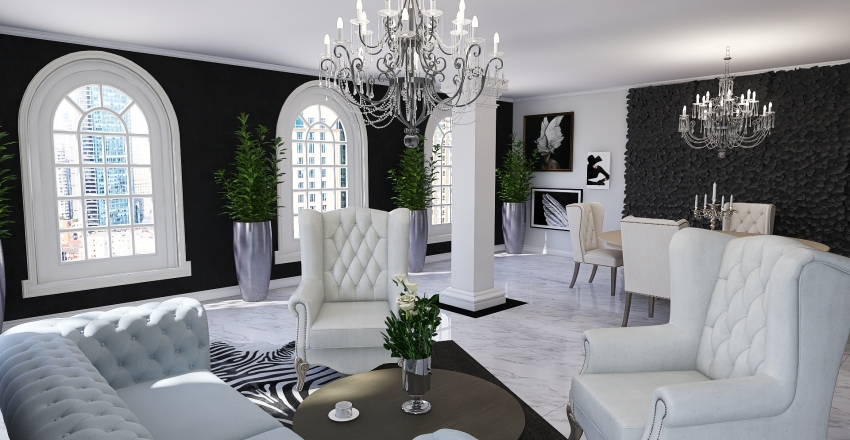 #6. Interior Design Render