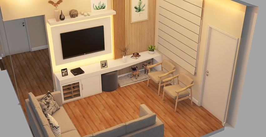 Cláudia Maria Montebello - UPK Interior Design Render
