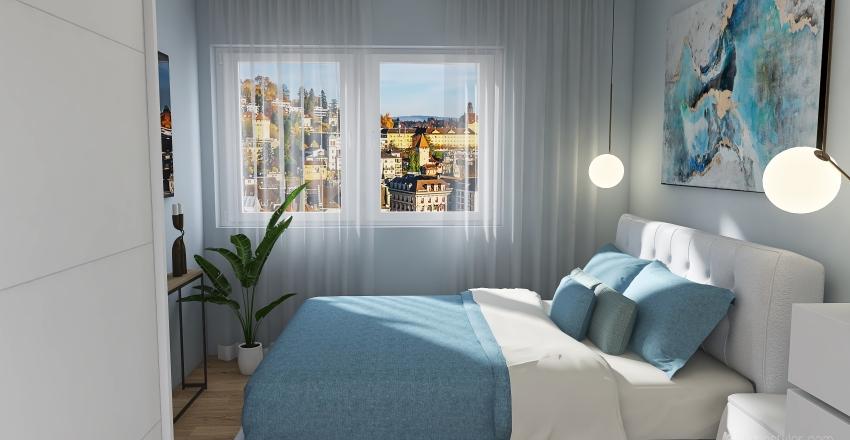Project 1_Bedroom Interior Design Render