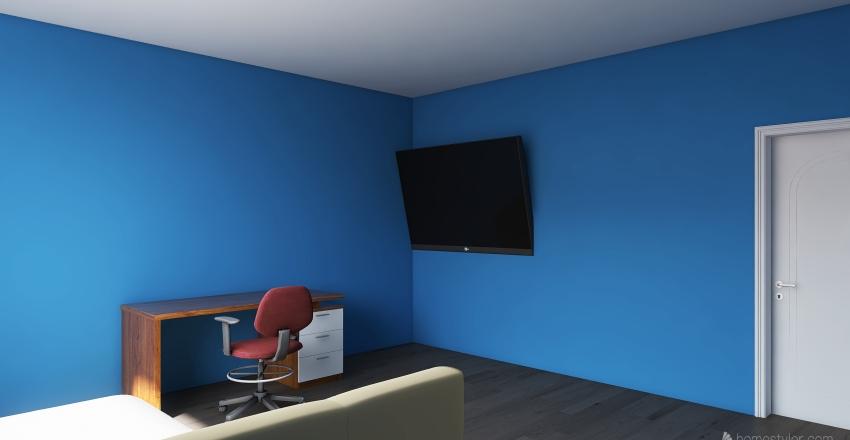 Benny's Room Interior Design Render